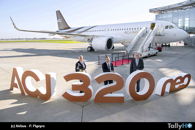 Acropolis Aviation recibe el primer ACJ320neo