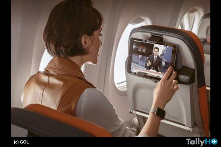 GOL alcanzó récord de accesos a Internet en vuelo con más de 250 mil Clientes conectados en 2018