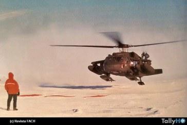 20 Años de la llegada al Polo Sur del Sikorsky S-70A de la FACH