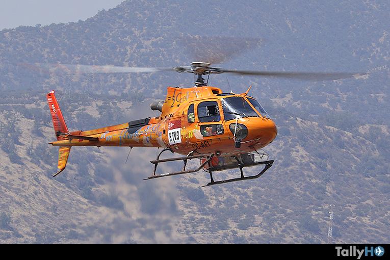 Ecocopter pionera en incorporar en su flota de helicópteros sistema de monitoreo de datos de vuelo