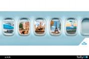 """""""3 ciudades por el precio de 1"""" junto a Air France y KLM"""