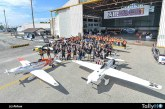 Airbus crea la primera carrera de aviones eléctricos con Air Race E