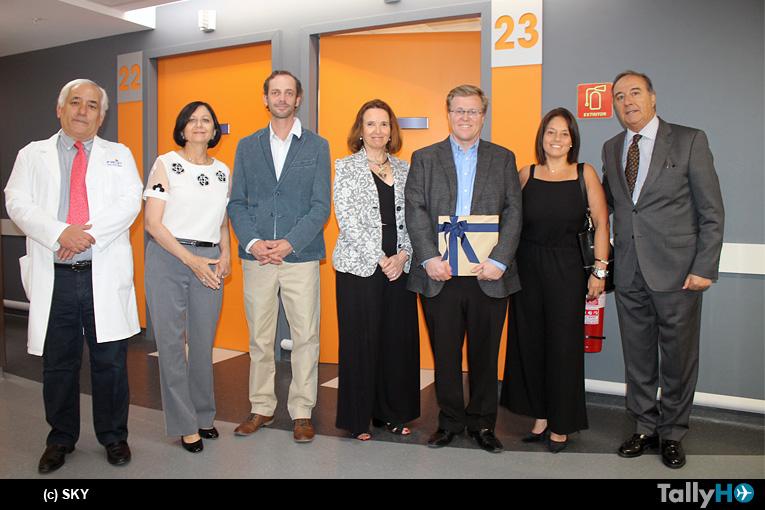 Convenio de transporte de pacientes entre SKY y Fundación Arturo López Pérez