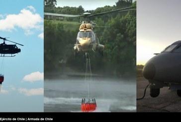 Operaciones Aéreas de las FFAA en apoyo al combate contra incendios forestales
