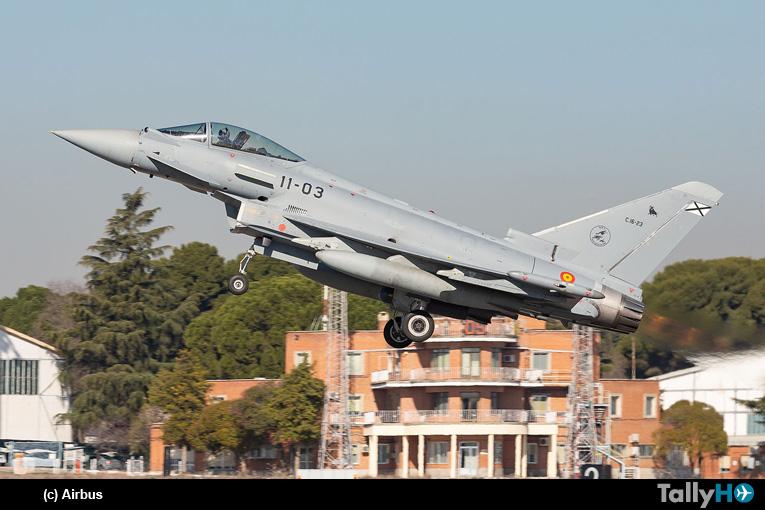 Primer Eurofighter Tranche 1 actualizado del Ejército del Aire fue entregado por Airbus