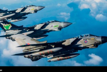 Real Fuerza Aérea despide a los venerables Tornado con diversos vuelos en formación