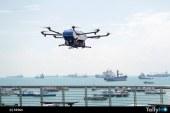 """Drone de Airbus, Skyways, realiza las primeras pruebas de entregas """"tierra-barco"""" en el mundo"""