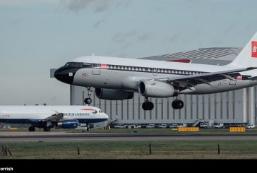 British Airways presentó avión con esquema clásico BEA aplicado a un A319
