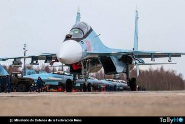 Ejercicio Aéreo Ladoga 2019 de las Fuerzas Aeroespaciales Rusas