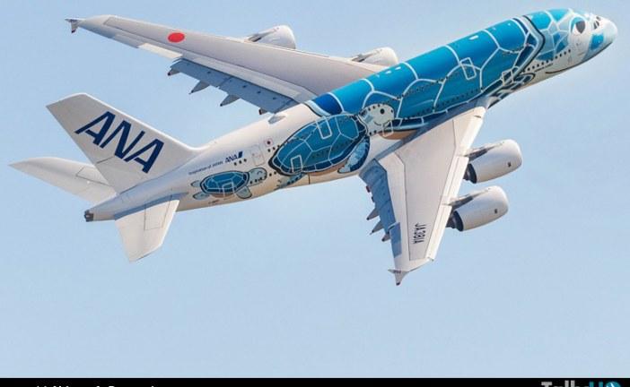 All Nippon Airways recibe su primer A380