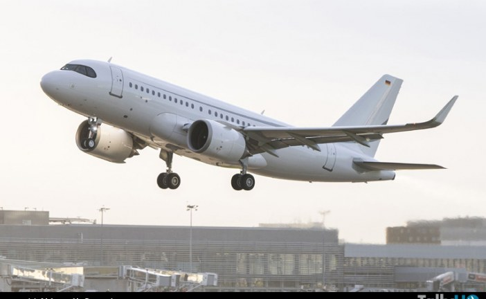 ACJ319neo establece récord durante vuelo de prueba