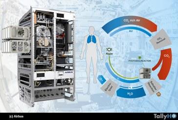 Airbus instalará Fotobiorreactor: oxígeno y alimento para los astronautas en la Estación Espacial Internacional
