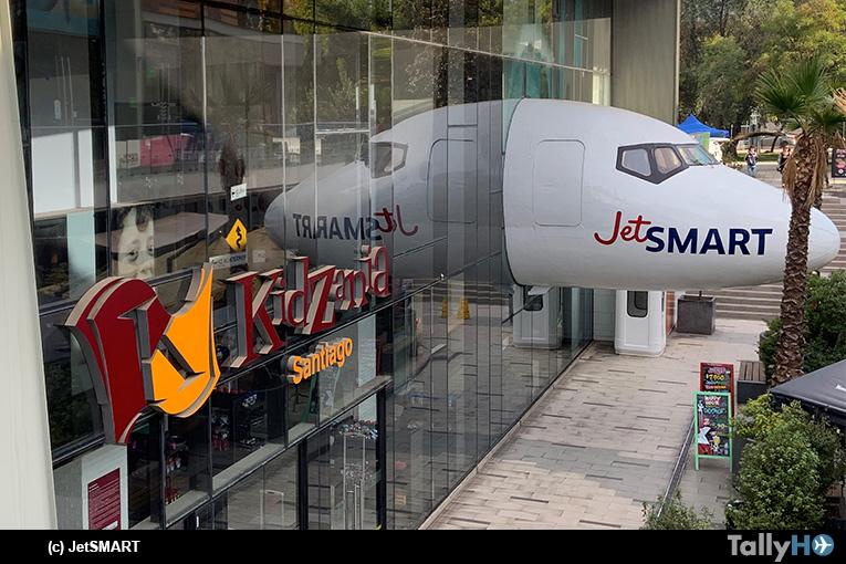 ¡JetSMART aterrizó en KidZania! Y cumplirá el sueño de miles de niños de ser parte de una aerolínea de los nuevos tiempos