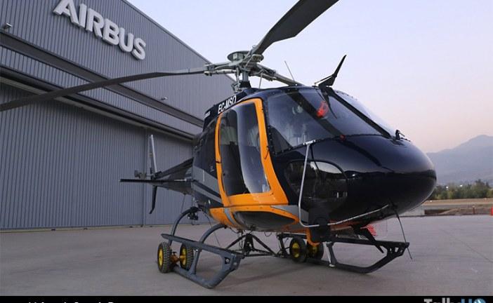 Presentación del Maximum Pilot View Kit para H125 en Airbus Helicopters Chile