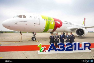 Aerolínea TAP Air Portugal recibe su primer A321LR