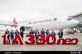 Aerolínea Air Mauritius recibió su primer A330neo