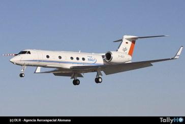 Dos expediciones aéreas sobre la Antártica realizará el avión HALO de la Agencia Aeroespacial Alemana