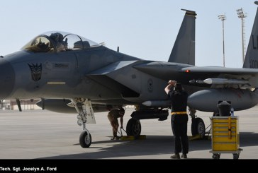 Un F-15C «Decepticon»