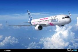 Airbus presentó en Le Bourget el avión de un solo pasillo de mayor alcance: el A321XLR