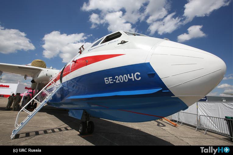 UAC Rusia amplió contrato de cinco a siete Beriev 200 para empresa chilena