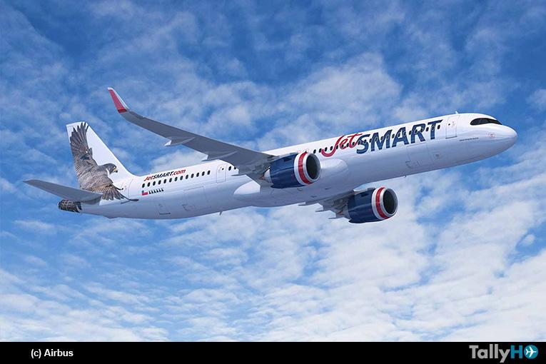Aerolínea Ultra Low Cost JetSMART compra 12 aviones A321XLR