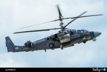 Helicópteros de Rusia comenzará la entrega de los Ka-52 modernizados