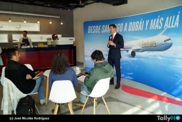 Aerolínea Emirates celebra un año de operaciones en Chile