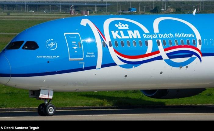 KLM cumple 100 años de historia