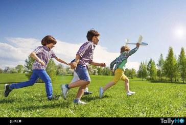 Air France-KLM celebran el mes del niño con espectacular sorteo