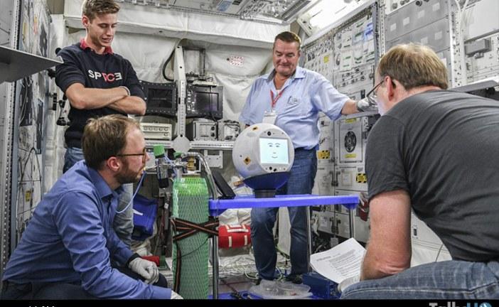 Asistente para astronautas CIMON retorna a la tierra luego de 14 meses en el espacio