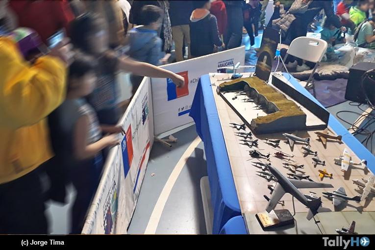 Exposición de maquetas del Búnker de Tima: «Acercando la Historia Aeronáutica de la Fuerza Aérea de Chile»