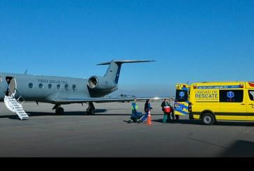 Fuerza Aérea de Chile realizó traslado de órganos desde región de Atacama
