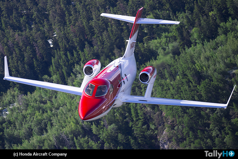 HondaJet es el avión ejecutivo ligero más vendido en 2019