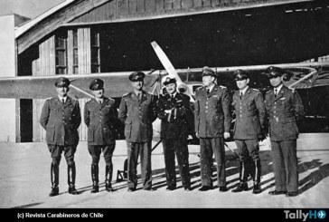 A 70 años de la llegada del primer avión del Club Aéreo de Carabineros de Chile
