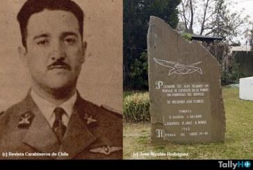A 70 años del fallecimiento del teniente René Barrera Vásquez, primer mártir de la aviación en Carabineros de Chile