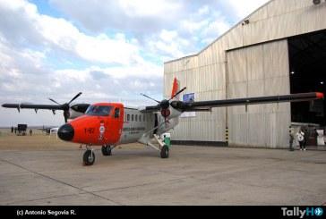 FACH realiza misión de búsqueda y salvamento a tripulación de Twin Otter Argentino en la Antártica