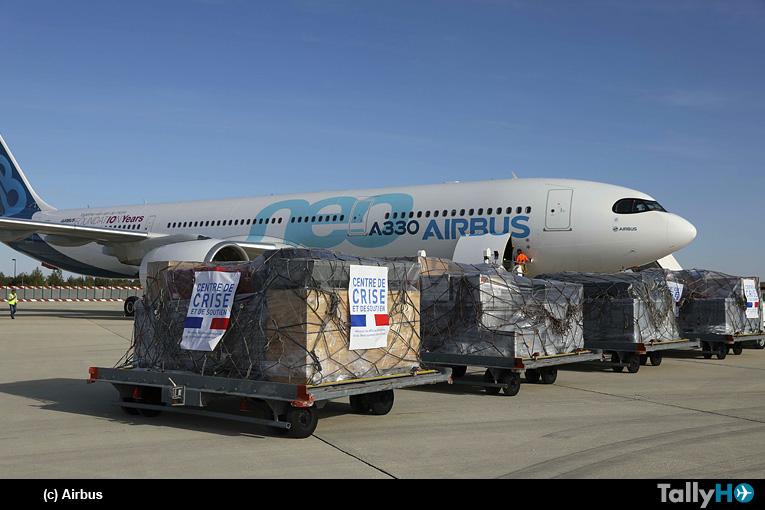 La Fundación Airbus apoya la lucha contra el fuego en el Amazonas boliviano