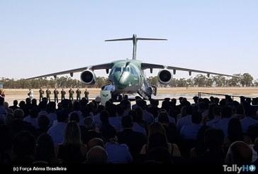 Fuerza Aérea Brasileña recibe oficialmente primer Embraer KC-390