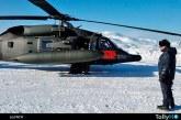 FACH despliega helicóptero Black Hawk en la Antártica