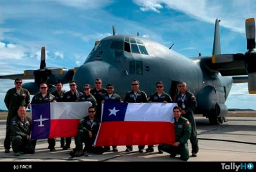Fuerza Aérea de Chile participa en Ejecicio Aéreo Mobility Guardian 2019