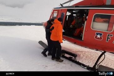 FACH realiza evacuación aeromédica de científico argentino en la Antártica