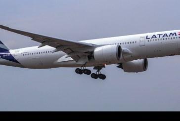 Primer vuelo comercial de Airbus A350-900 a Chile