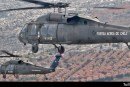 Volando en MH-60M Black Hawk de la FACH en la Parada Militar 2019