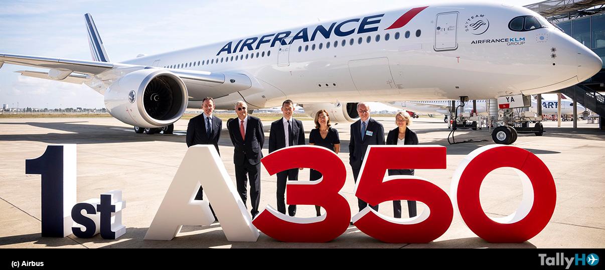 Air France recibe su primer A350 XWB