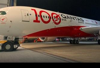 La centenaria trayectoria revelada en el nuevo Dreamliner de Qantas