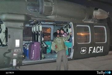 Fuerza Aérea efectuó exitoso traslado de órganos desde Valparaíso