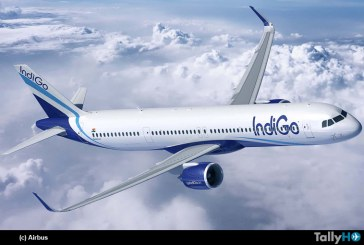 IndiGo firma por la compra de 300 aviones de la familia  A320neo