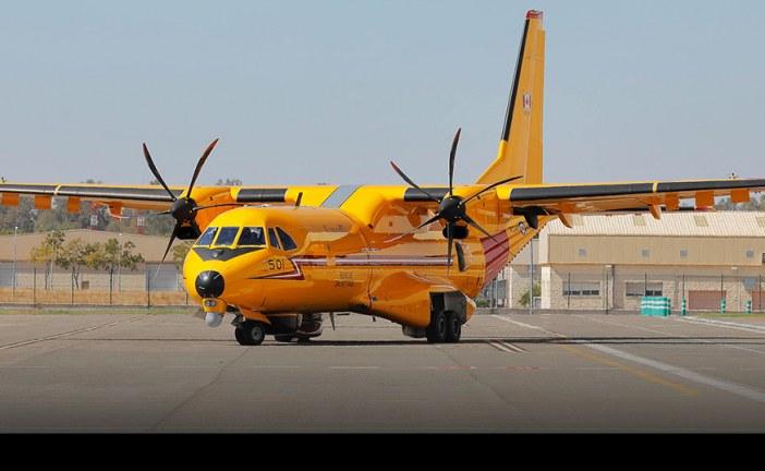 Primer Airbus C-295 de la Royal Canadian Air Force exhibe su esquema final