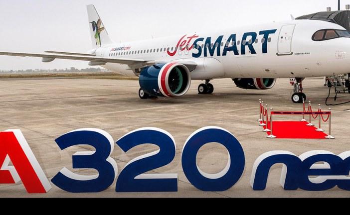 JetSMART recibe en fábricas de Airbus en Toulouse su nuevo avión A320neo