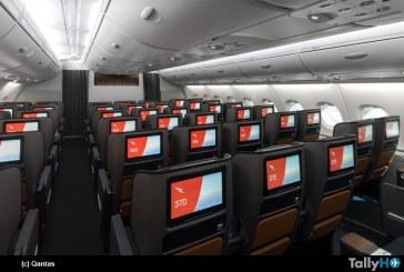 Primer A380 remodelado de Qantas realizó su primer vuelo
